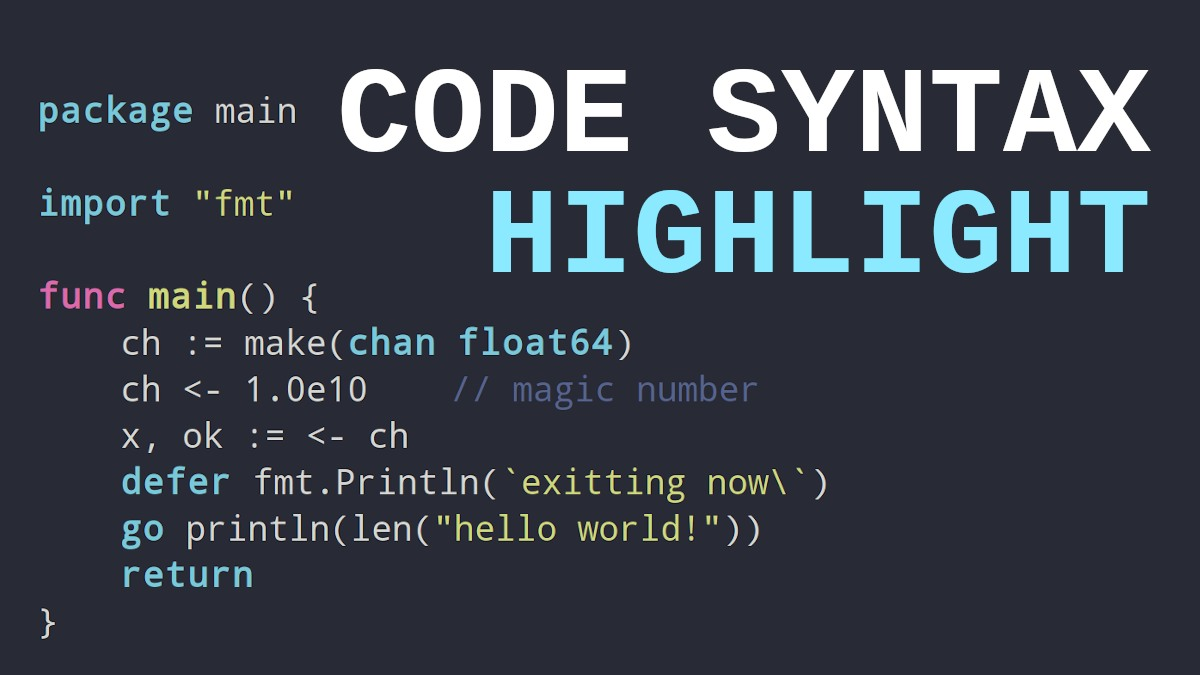 Code Syntax Highlighter | srgdev.com