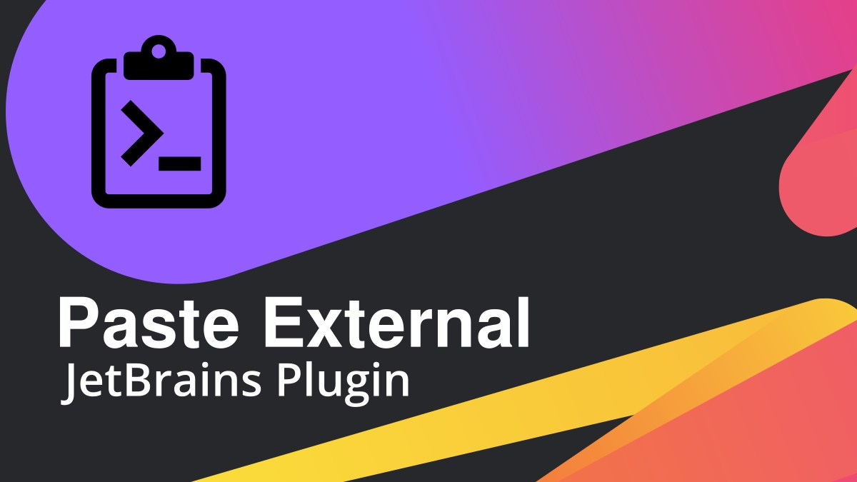 Paste External | JetBrains Plugin | srgdev.com